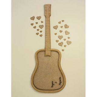 Libro de firmas guitarra -50