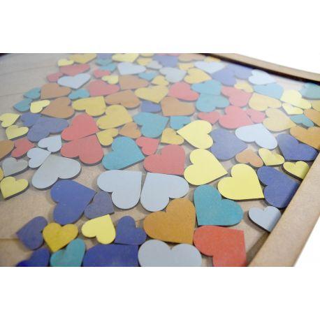 Libro de firmas globo - 100 piezas colores