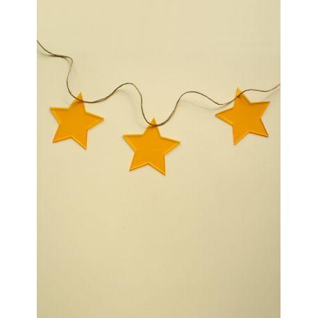 Guirnalda de metacrilato - estrellas