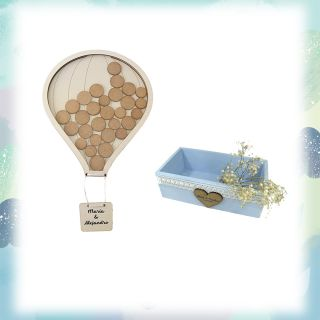 Pack globo 200 + caja gramde personalizada