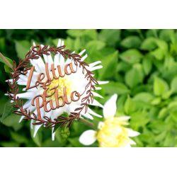 Guirnalda vegetal 15 - decoracion de bodas , comuniones , eventos y congresos