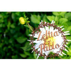 Guirnalda vegetal 30 - decoracion de bodas , comuniones , eventos y congresos