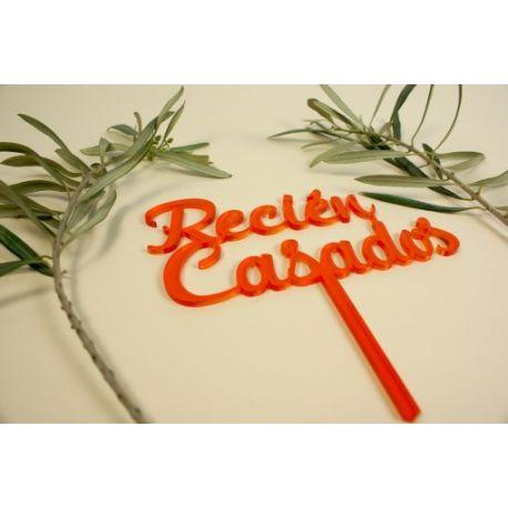 Caketopper Recién Casados