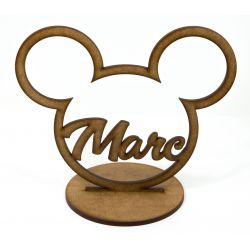 """Nombre Personalizado """"Mikey"""" Decoracion de Tartas  ,  dulces, Flores , regalos  - decoracion de bodas , comuniones , eventos y"""