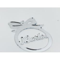 Bola de navidad personalizada  plata - modelo 2