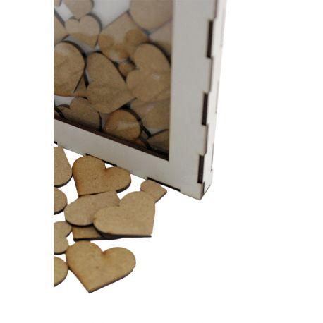 Cuadro corazones - 100 `piezas